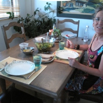 Lunch with Yolande