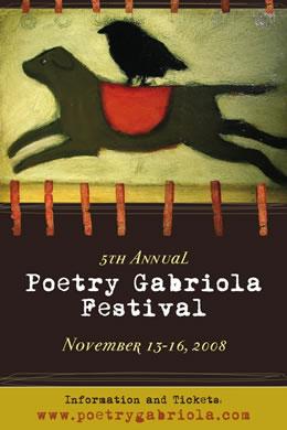 Poetry Gabriola Poster