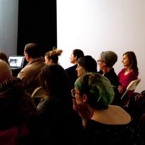 Listening Sessions, Jan. 2015 (photo by Jessica Hébert)
