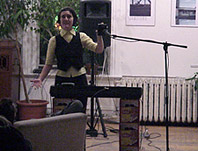 Performance at Zeke's Gallery