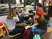 Workshop on creativity with Maren's class, February, 2018